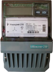 Счетчик Меркурий 230 с жидкокристаллическим индикатором