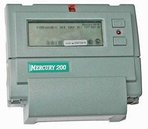 Многотарифный счетчик Меркурий 200