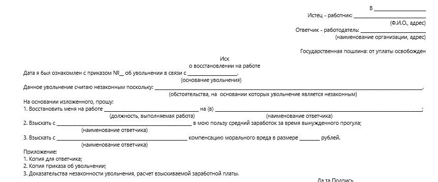 исковое заявление в суд общей юрисдикции образец