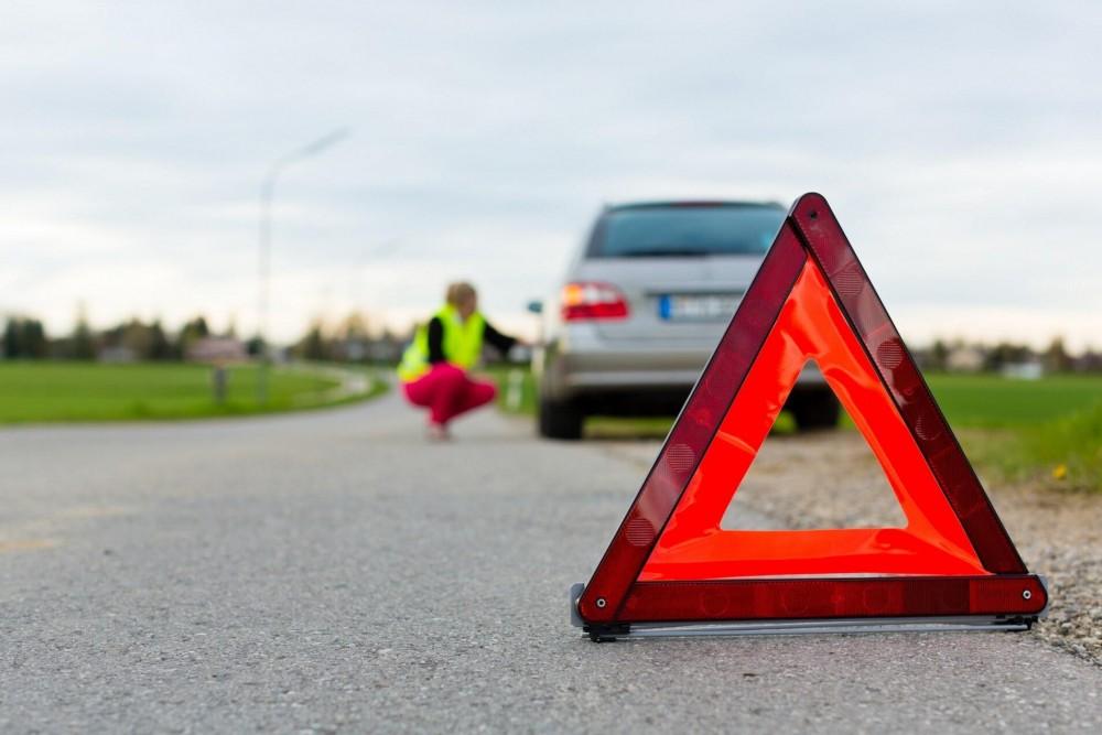 Знак аварийной остановки нового образца: расстояние, ГОСТ