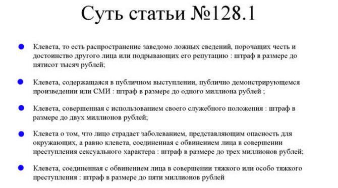 Статься 128 часть 1