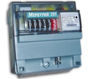 Электронный счетчик «Меркурий 201.5»