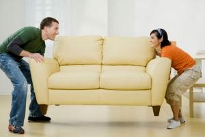 Как вернуть диван