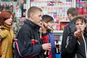 Алкоголизм в подростковой среде