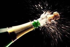 Хранение шампанского