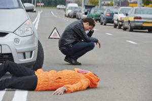 При дтп пострадал пешеход
